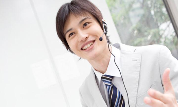 スカイプ英会話を学ぶビジネスパーソン