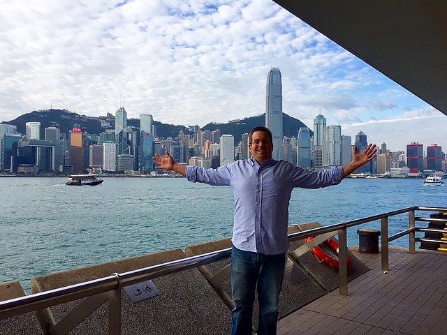 アメリカ人Andrew先生のバケーション in 香港&バンコク!
