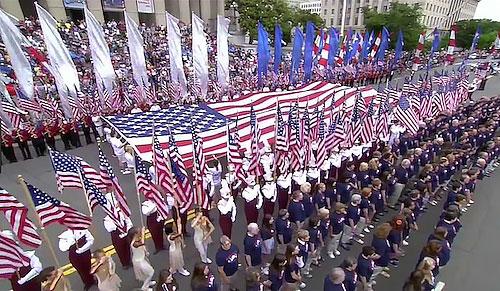 アメリカ独立記念日パレード