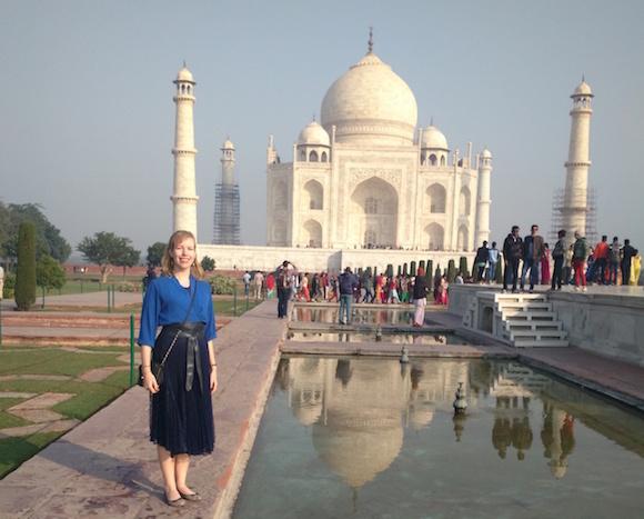 インド滞在中〜Sarah先生の旅行記
