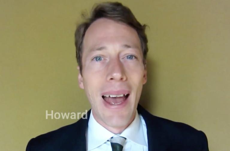 国際金融機関でのビジネス経験が豊富 – Howard先生(イギリス)