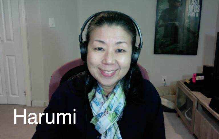 金融の非常に強いビジネス経験あり – Harumi先生(カナダ)